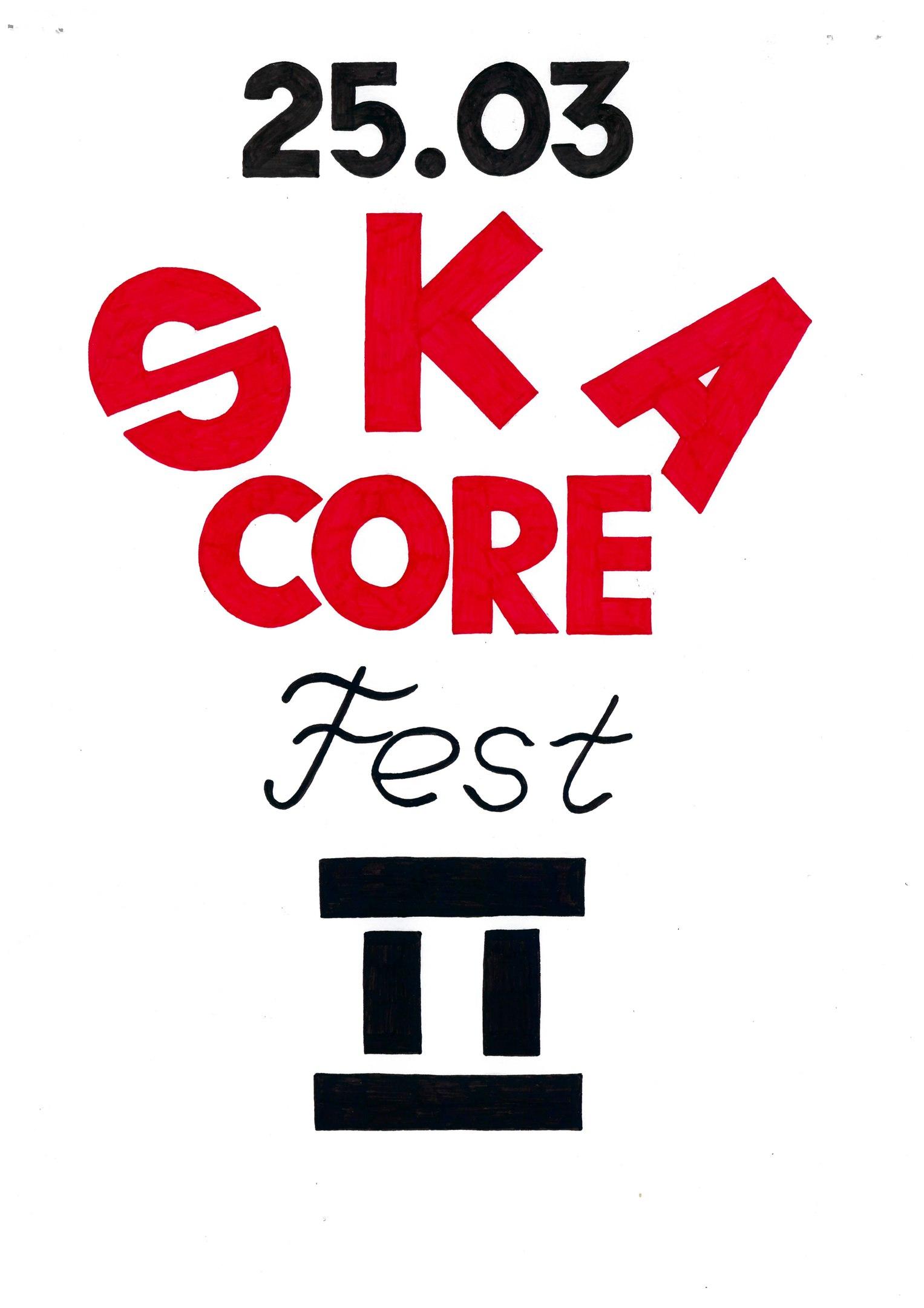 25.03 ● SKA-CORE-FEST 2 ● Питер ● Zoccolo 2.0